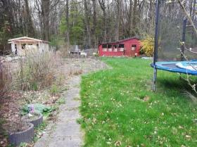 Mein neuer Garten alter Zustand