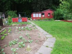 Mein Garten in neuem Zustand